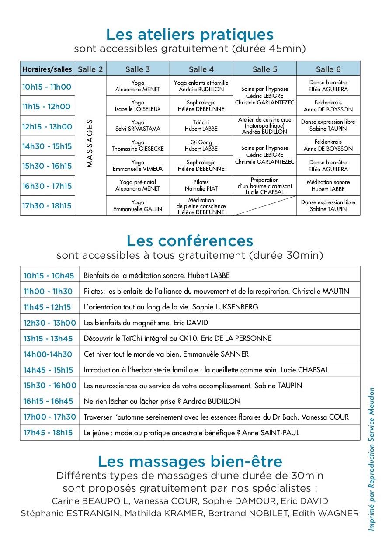 Forum Bien-être Meudon
